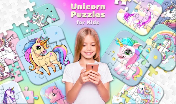 Unicorn Puzzles for Kids APK screenshot 1