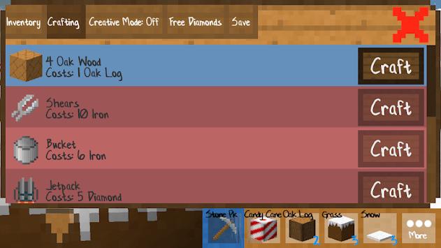 PixelCraft: Modern Houses Building APK screenshot 1