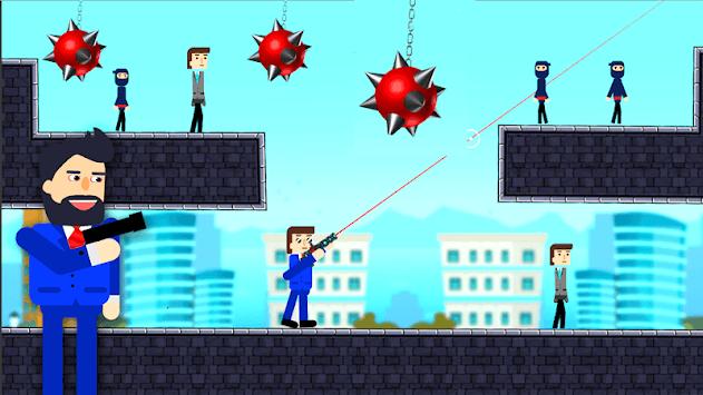 MR . Bullet Shooter APK screenshot 1