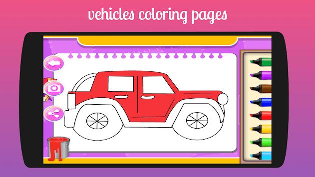 Kids Coloring Book Fun Game APK Download For Free