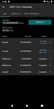 Poloniex Crypto Exchange APK screenshot 1