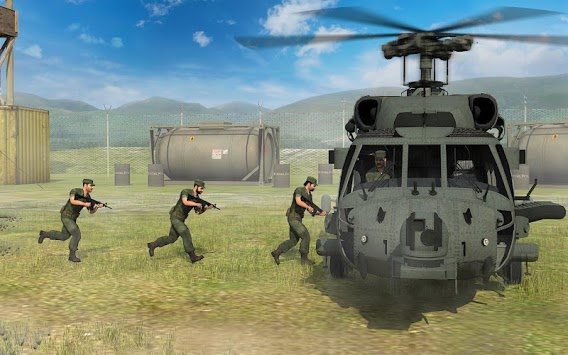 Army Helicopter Transporter 3D APK screenshot 1