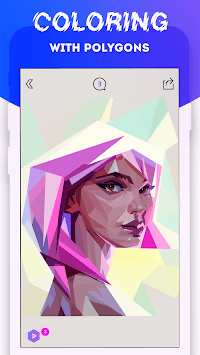 PolyMagic - Polygram Puzzle APK screenshot 1