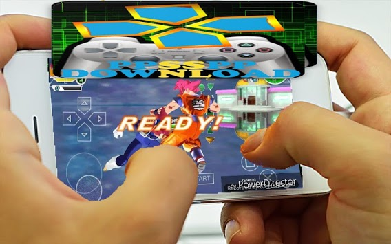PPSSPP and Roms Game Premium A to Z APK screenshot 1