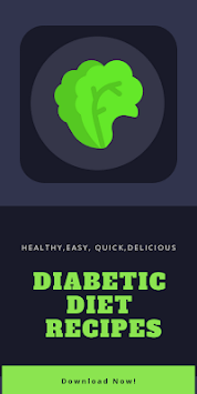 Diabetic Diet Recipes: Diabetes Recipes Apps Free APK screenshot 1