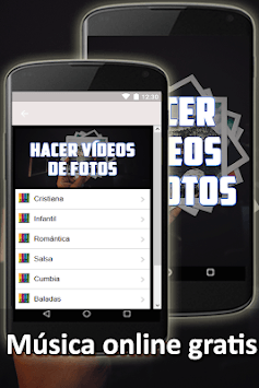 Hacer Videos De Fotos Con Musica Y Texto Guia APK screenshot 1