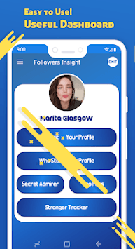 Profile Follower Analyzer APK screenshot 1