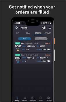 ProfitTrading For Bittrex APK screenshot 1