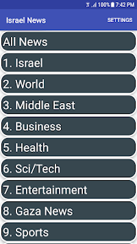 Israel News in English   Israel News App APK screenshot 1
