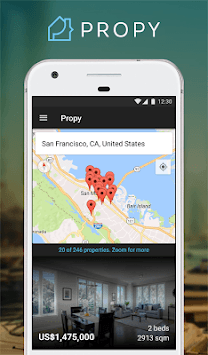 Propy - Buy Properties in Bitcoin and $. Online. APK screenshot 1