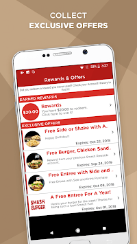Smashburger Rewards APK screenshot 1