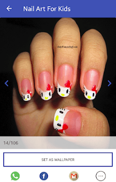 Nail Art For Kids APK screenshot 1