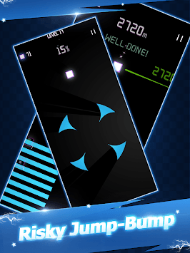 Starry Jump - Fall n Bounce APK screenshot 1