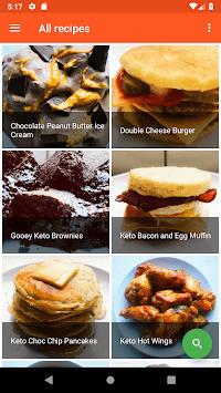 Keto Junk Foods APK screenshot 1