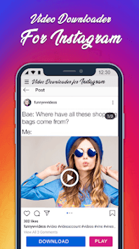 InstaSaver Photo & Video Downloader for Instagram APK screenshot 1