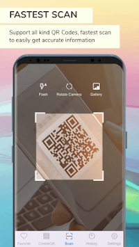 QR code  Scanner - Barcode Reader - Create Qrcode APK screenshot 1