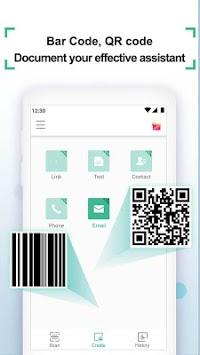 Coreader- QR Code & Barcode Scanner APK screenshot 1
