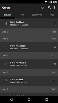 Quran for Android APK screenshot 1