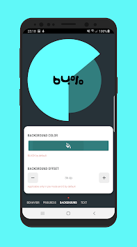 Percentage Chart View - Android library APK screenshot 1