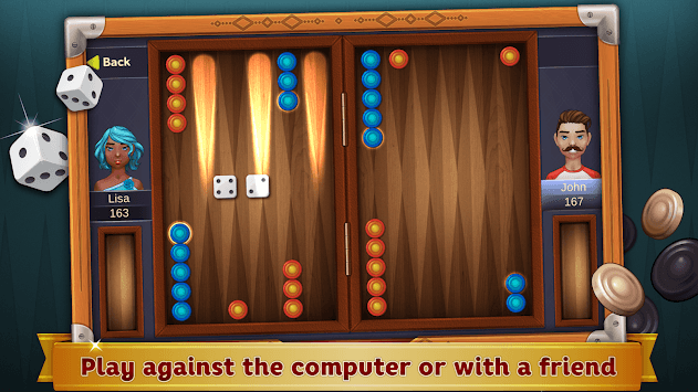 Backgammon Deluxe APK screenshot 1