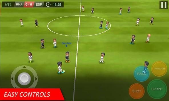 Mobile Soccer League APK screenshot 1