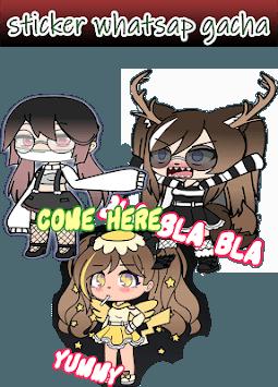 Sticker Anime Character APK screenshot 1