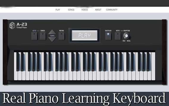 Real Piano Learning Keyboard 2019 APK screenshot 1