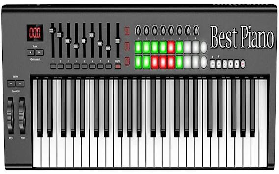 Real Piano Learning Keyboard 2019 APK screenshot 1