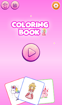 Princess Coloring Game APK screenshot 1