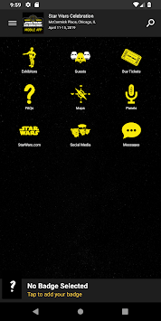 Star Wars Celebration APK screenshot 1