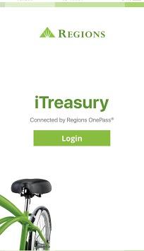 Regions iTreasury Mobile APK screenshot 1