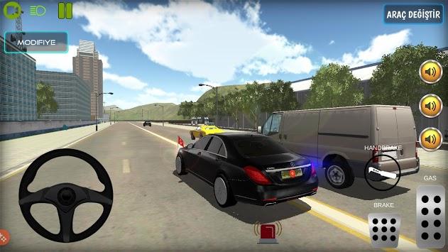 New President Car Driving Game APK screenshot 1