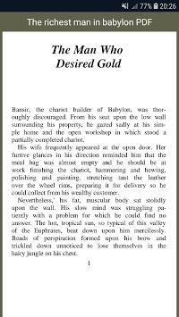 The richest man in Babylon PDF APK screenshot 1