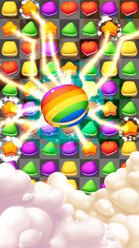 Cookie & Macaron Pop : Sweet Match3 Puzzle APK screenshot 1