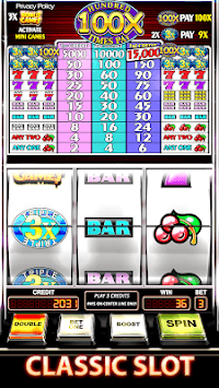 Slot Machine : Triple Hundred Times Pay Free Slot APK screenshot 1