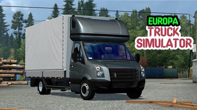 Euro Driving Truck : Truck Drive Simulator 2019 APK screenshot 1