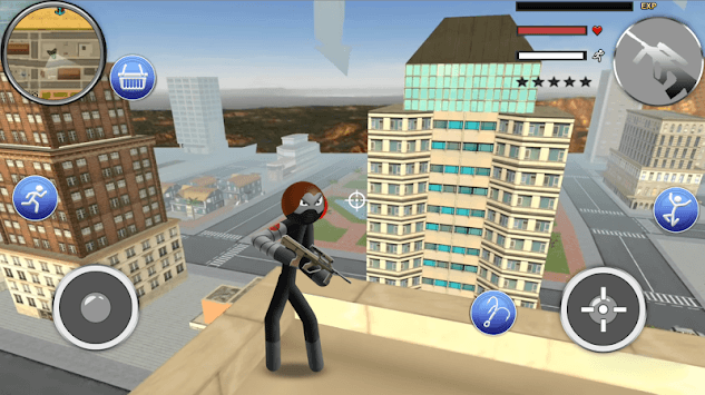 Stickcrime: Crime City Street Fighter APK screenshot 1