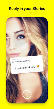 Rose: Anonymous Love Messages for Snapchat Friends APK screenshot 1
