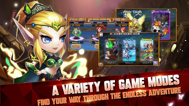 Ancient Creed: Enchanting World of Azeross APK screenshot 1