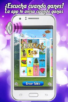 Tablas de Lotería Mexicana APK screenshot 1