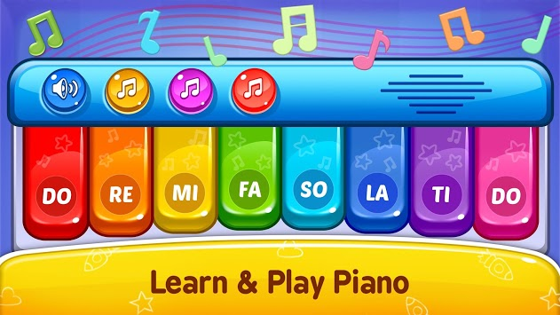 Baby Games - Piano, Baby Phone, First Words APK screenshot 1