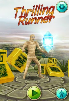Thrilling Run APK screenshot 1
