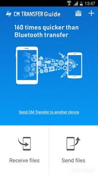Cm Transfer - Share any files with friends Advice APK screenshot 1