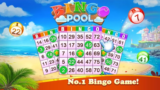 Bingo Pool - Free Bingo Games Offline,No WiFi Game APK screenshot 1