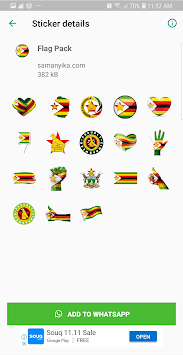 Zimbabwe Stickers by Samanyika.com APK screenshot 1