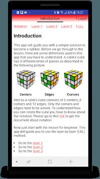 Rubik's Cube BeRubiker APK screenshot 1