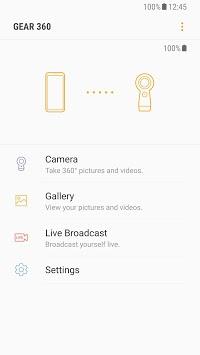 Samsung Gear 360 (New) APK screenshot 1