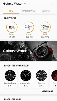 Galaxy Watch Plugin APK screenshot 1