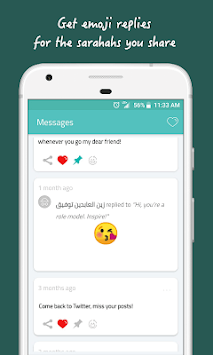 Sarahah APK screenshot 1