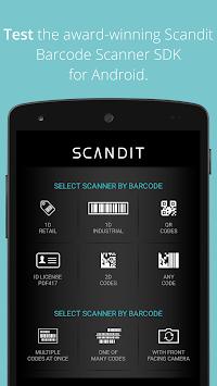 Scandit Barcode Scanner Demo APK screenshot 1